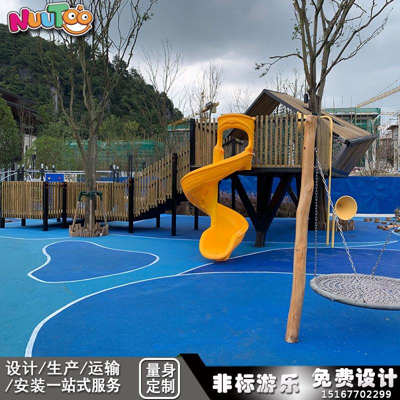 哪里有賣兒童戶外游樂設備? 戶外兒童游樂設備廠家供應_樂圖非標游樂設備
