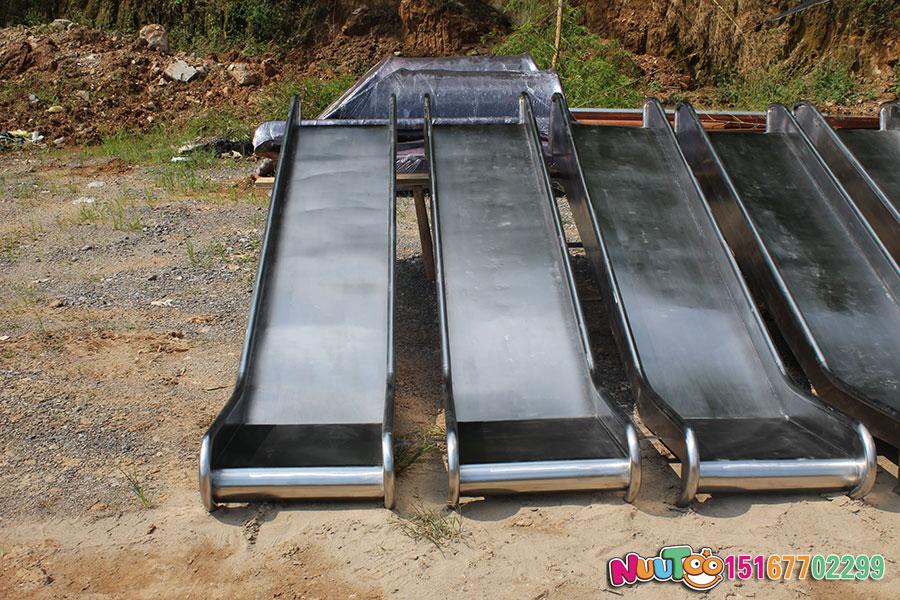 乐图非标游乐+不锈钢滑梯+山西运城幼儿园案例-(40)