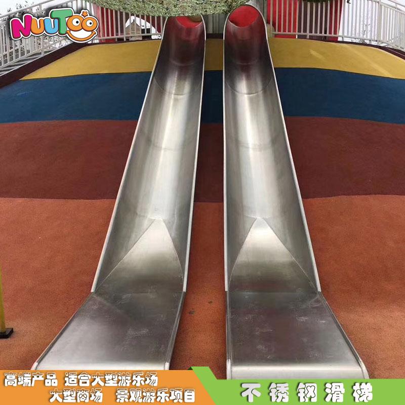 杭州西湖景區坡地不銹鋼滑梯_樂圖非標游樂設備