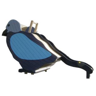 戶外小鳥大型組合滑梯報價價格_樂圖非標游樂