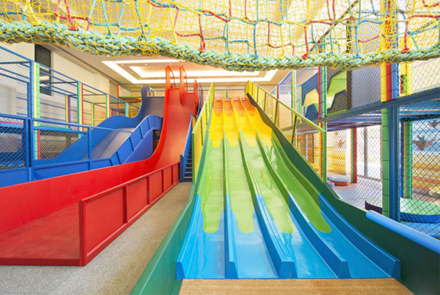 魔鬼滑梯+室内儿童乐园8