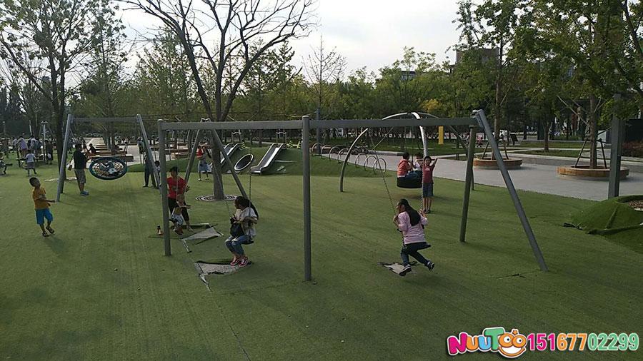核桃乐园+非标游乐+组合滑梯+游乐设备-(25)