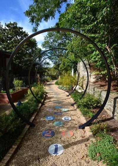图钉装饰+组合滑梯+儿童乐园