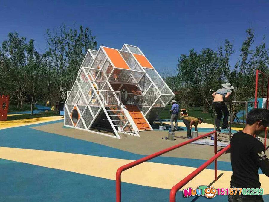 非标游乐+北京旭辉组合滑梯 +儿童乐园设备 (15)
