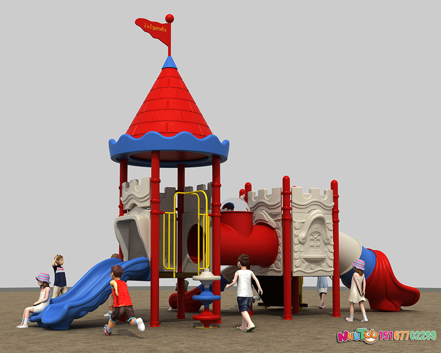 组合滑梯+儿童游乐设备+小博士+长城 (14)