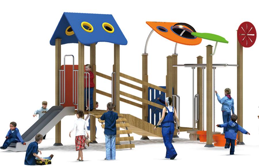 组合滑梯+游乐设备+小博士+滑梯+原木滑梯+不锈钢组合滑梯28