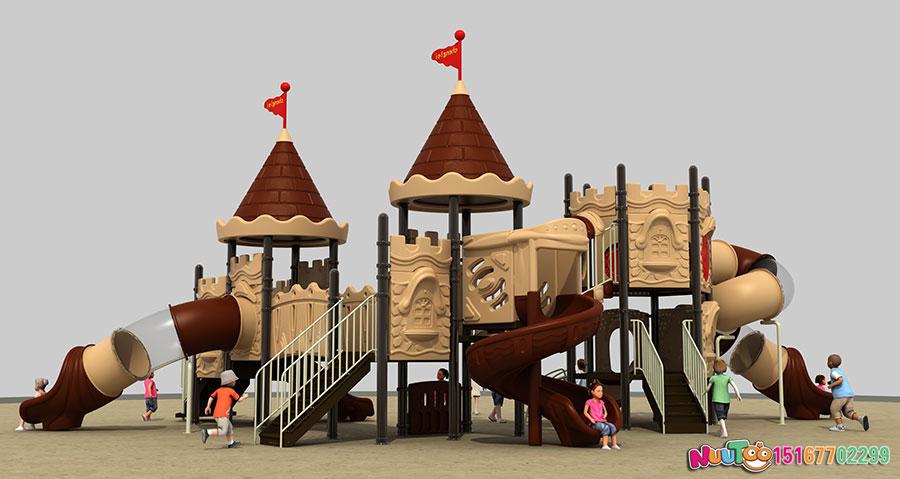 组合滑梯+儿童游乐设备+小博士+长城 (8)