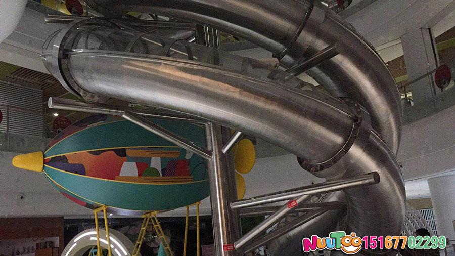乐图非标游乐+不锈钢滑梯+福建巨龙滑梯-(60)