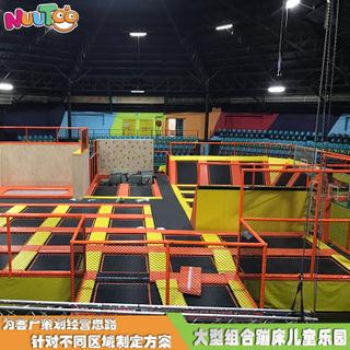 室內大型兒童蹦床樂園 蹦床館設備生產廠家LT-BC002