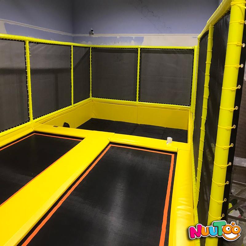 兒童樂園室內組合蹦床設備貴州安順案例
