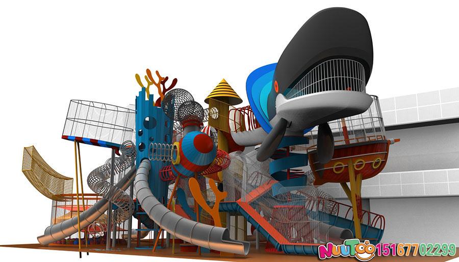 非标游乐+北京水立方游乐场+不锈钢滑梯乐园 (11)
