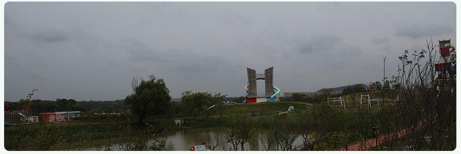 红山体育公园+非标游乐项目+组合滑梯_02