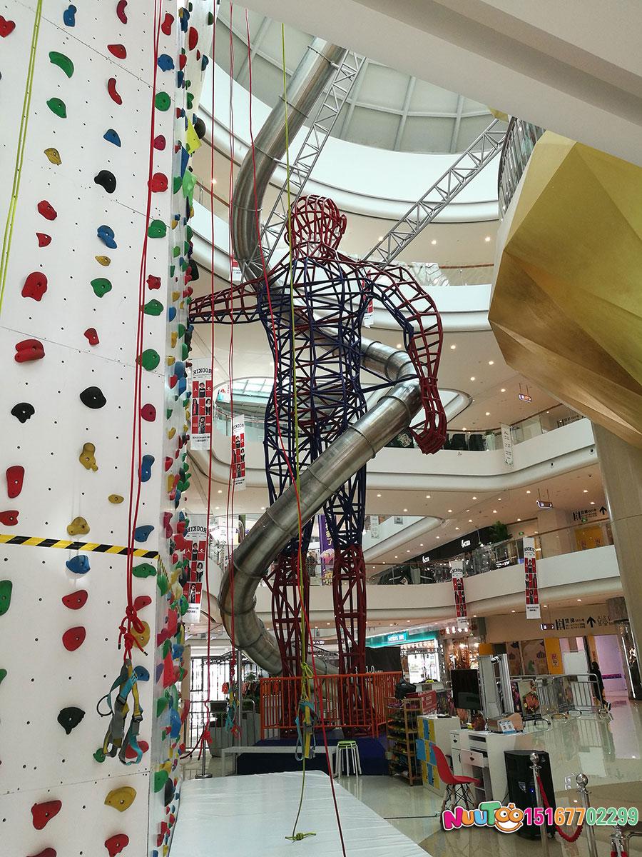 乐图非标游乐+不锈钢滑梯+台州银泰购物-(111)