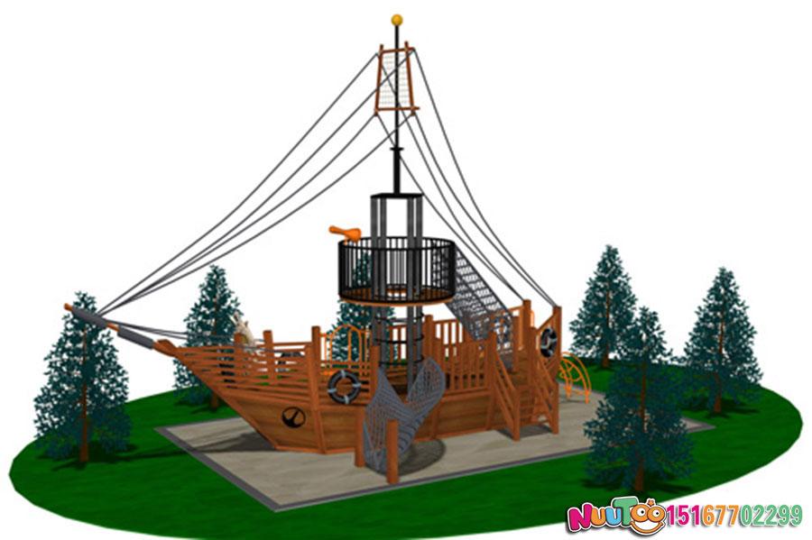 乐图非标游乐+海盗船+大型组合滑梯-(16)