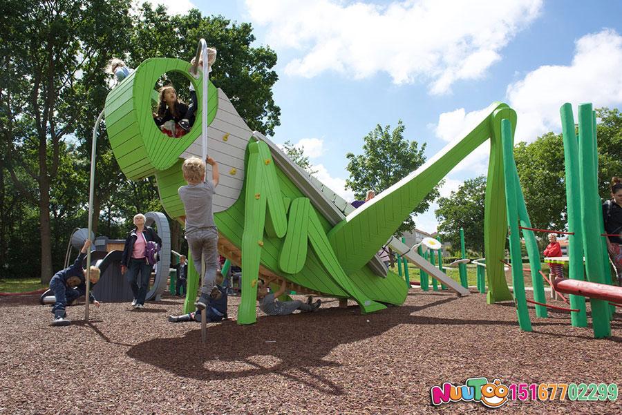 非标游乐+游乐设施+蝗虫组合滑梯+大水壶组合游乐+滑滑梯 (6)