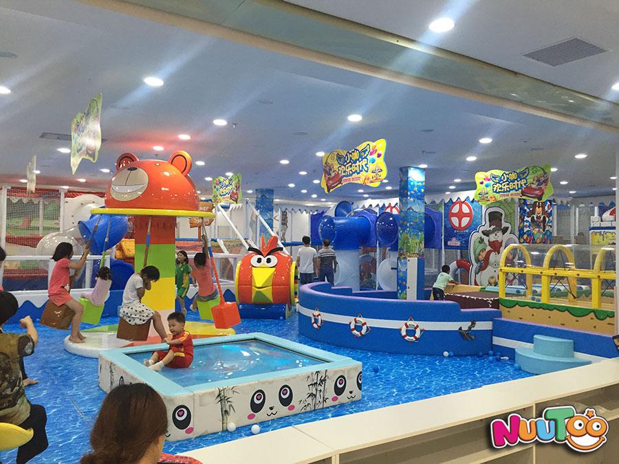 非标游乐+淘气堡+儿童游乐设备