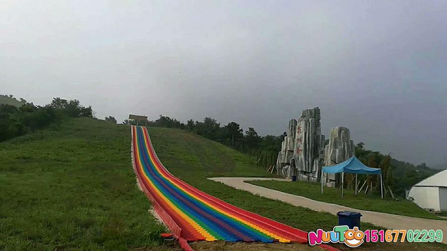 七彩滑道+七彩滑梯+旱雪滑梯+飞跃滑梯-(41)