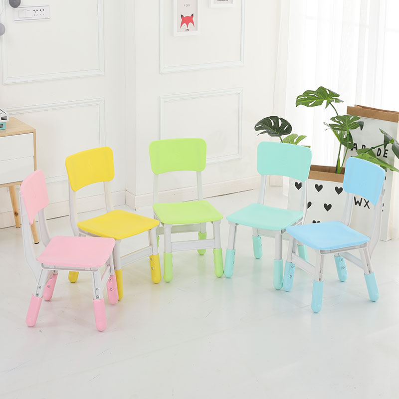 塑料拼接升降椅子 (13)